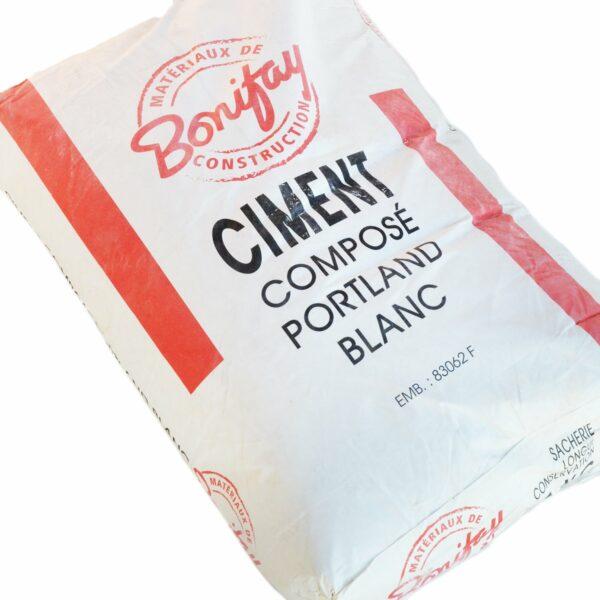 CIMENT BLANC COMPOSE BONIFAY EN 35KG (42 SACS/PAL)