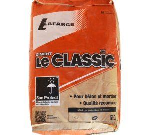CIMENT 35KG LAFARGE LE CLASSIC 32.5 NORME NF