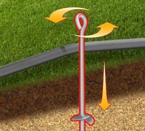 Kit ancrage adaptable à tout trampoline