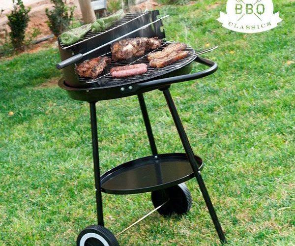 Barbecue double niveau sur King Matériaux