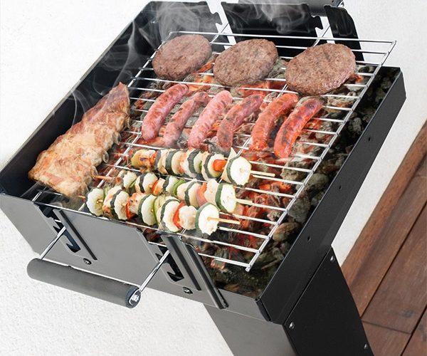 barbecue à charbon design petit prix