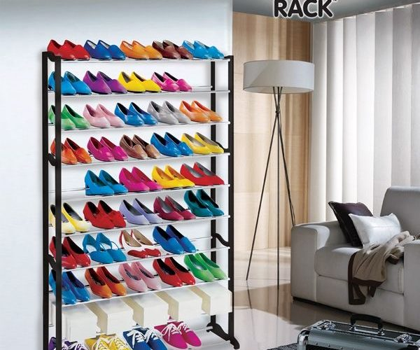 meuble à chaussures, 50 chaussures.