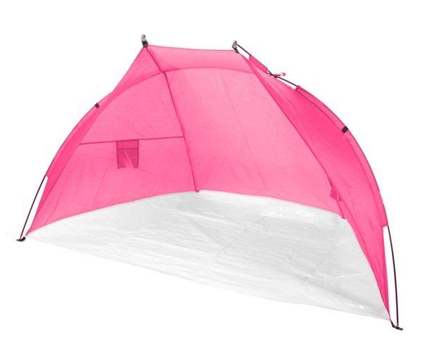 Tente plage rose