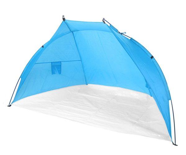Tente plage bleu