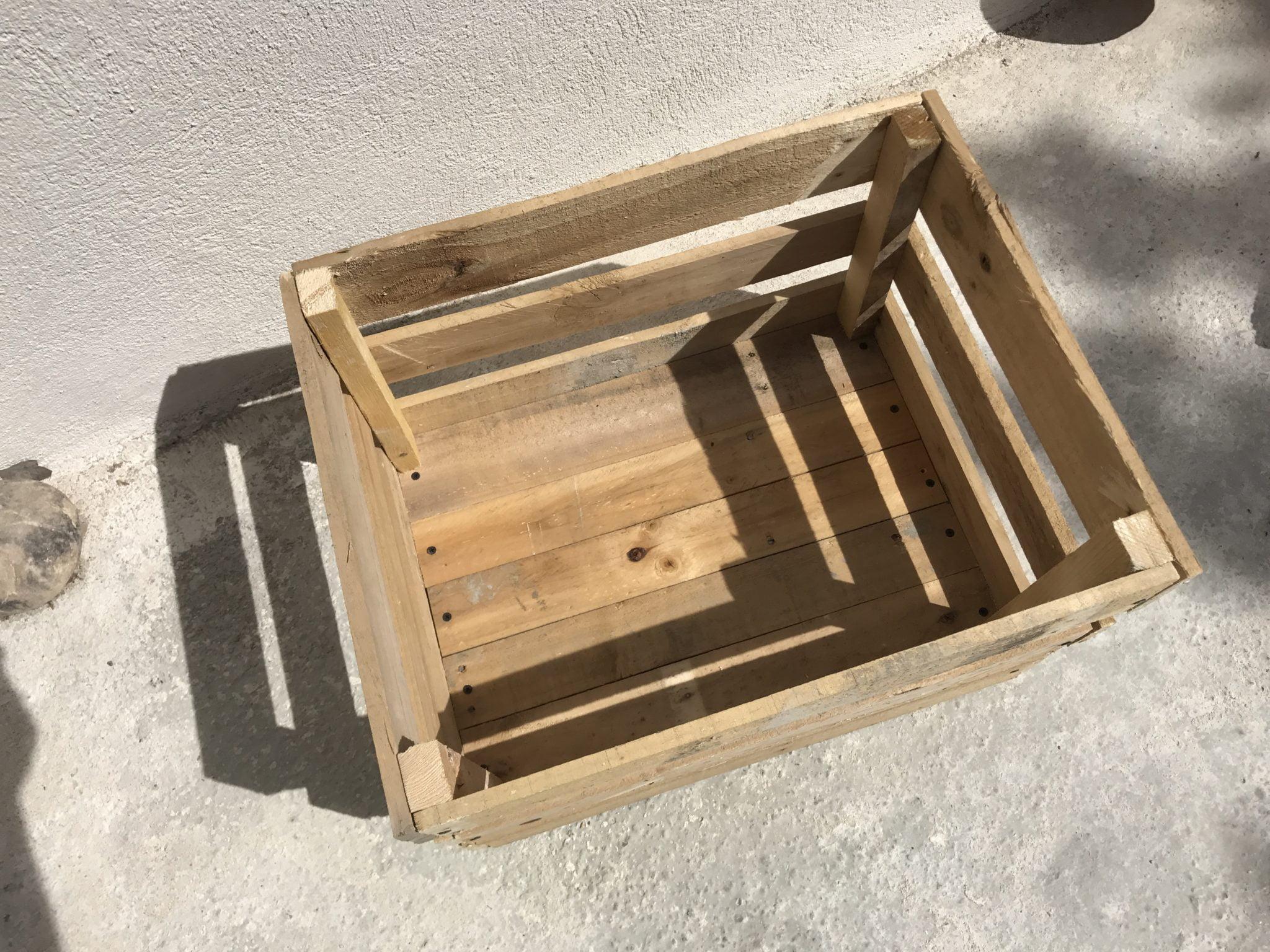 réalisez une caissette en bois