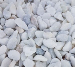 échantillon-gravier-blanc-roulé