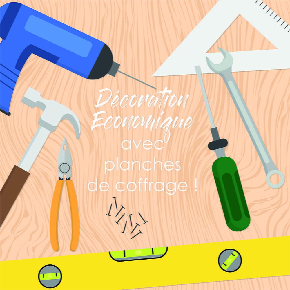 Meuble Avec Planche De Coffrage des idées décoration avec poutres et planches de coffrages