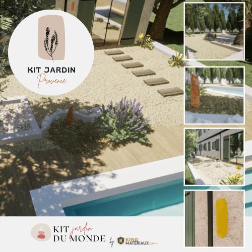 Jardin Provençal moderne